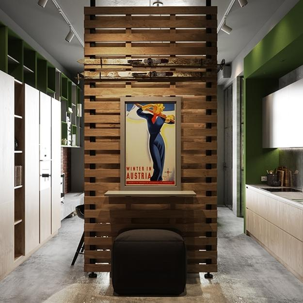 creative room dividers for lofts photo - 5