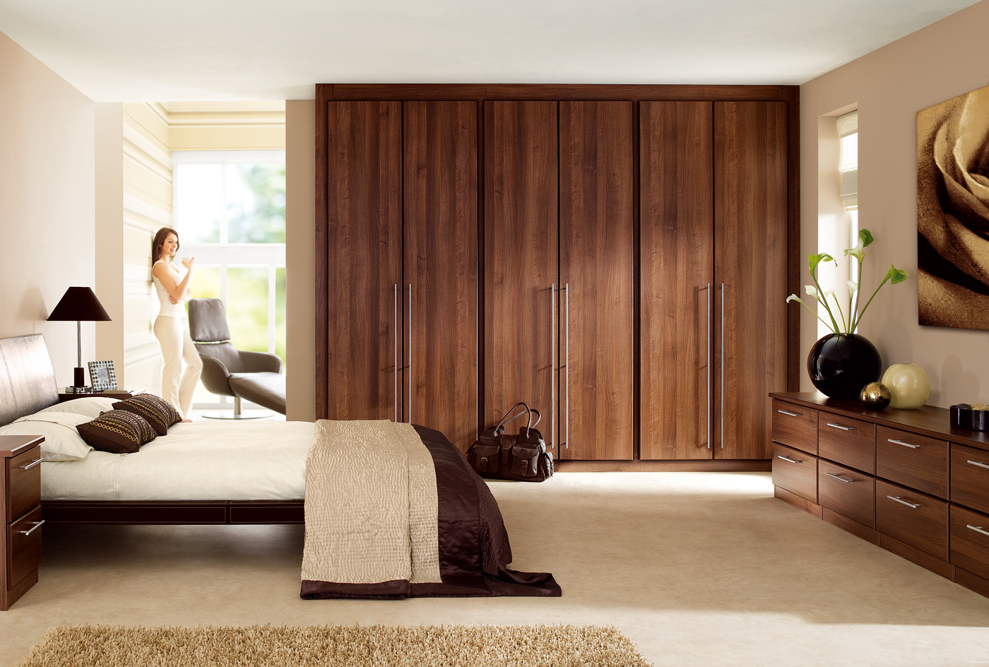 cupboard designs for bedrooms photo - 7