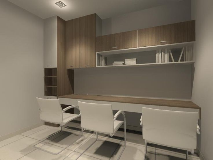 cupboard designs study room photo - 1