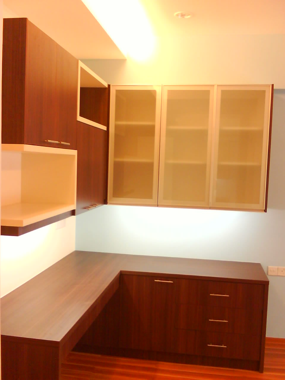 cupboard designs study room photo - 2