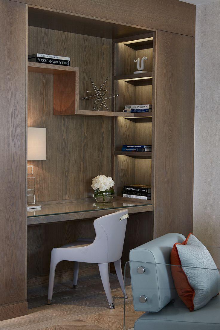 cupboard designs study room photo - 5