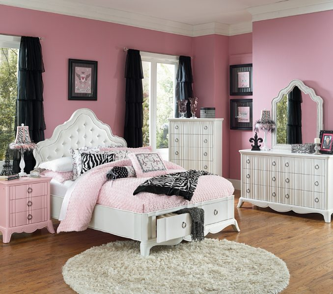 cute bedroom furniture for girls photo - 7