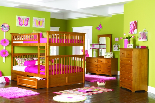 cute girly bunk beds photo - 3