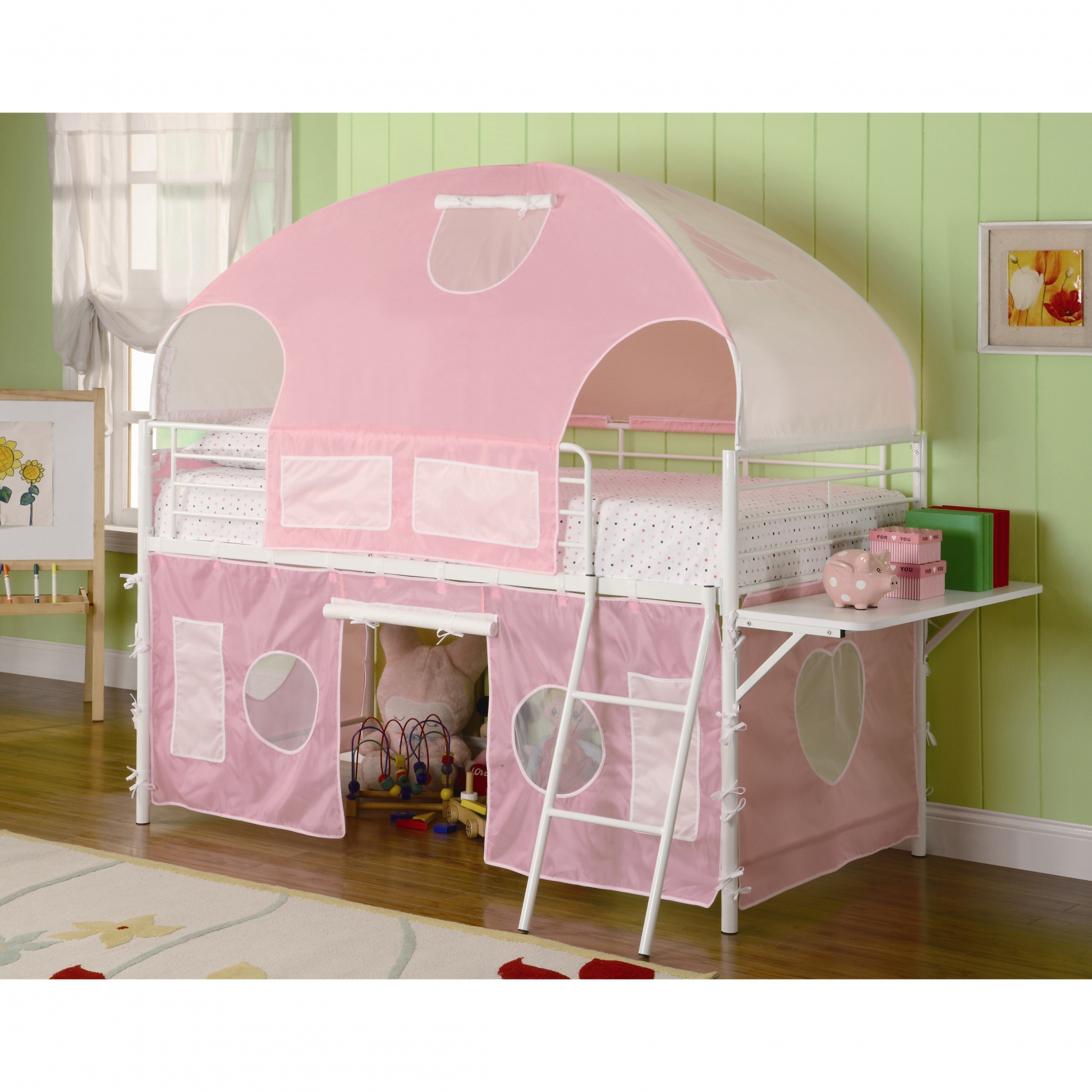cute girly bunk beds photo - 5