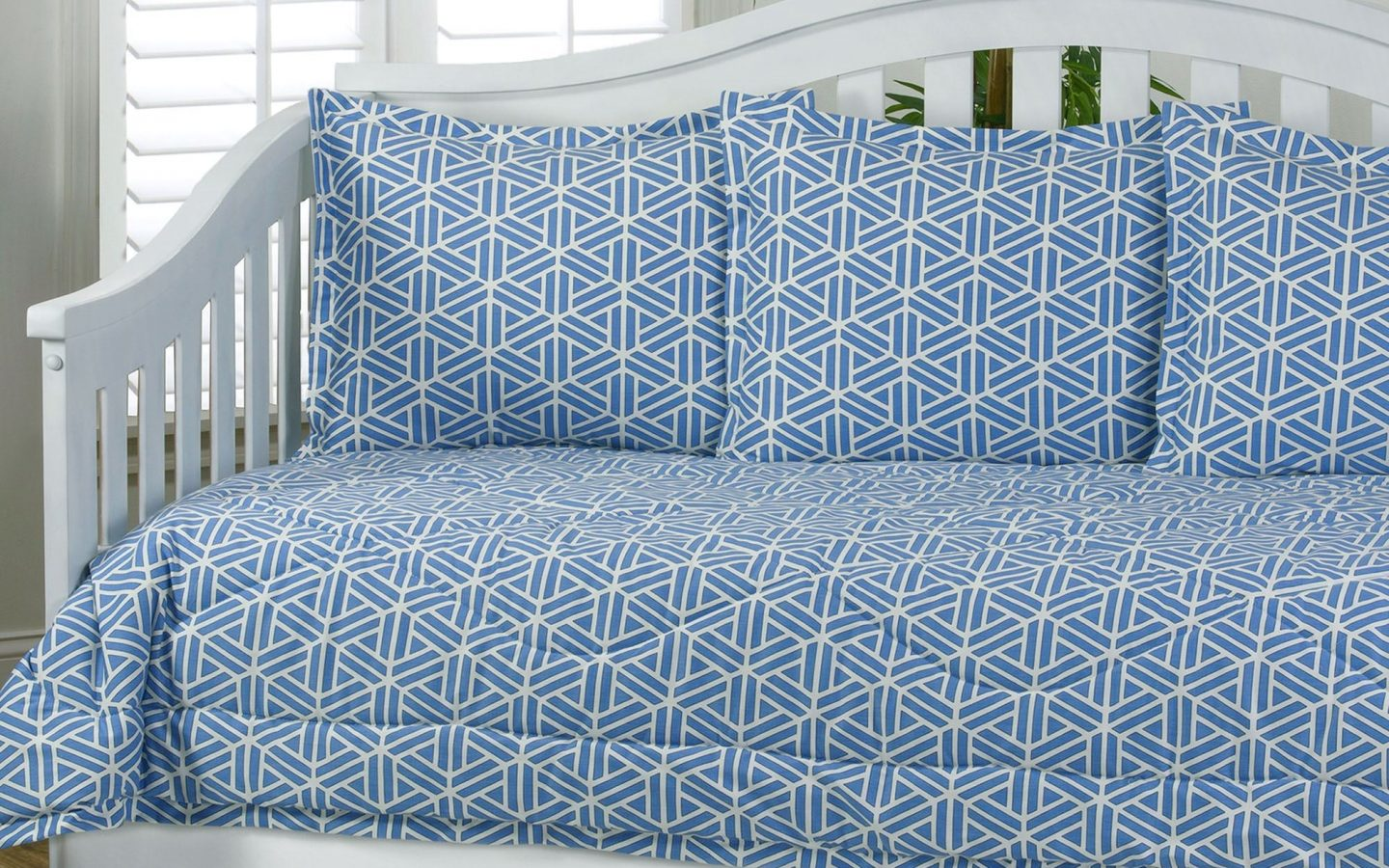 daybed bedding sets blue photo - 10