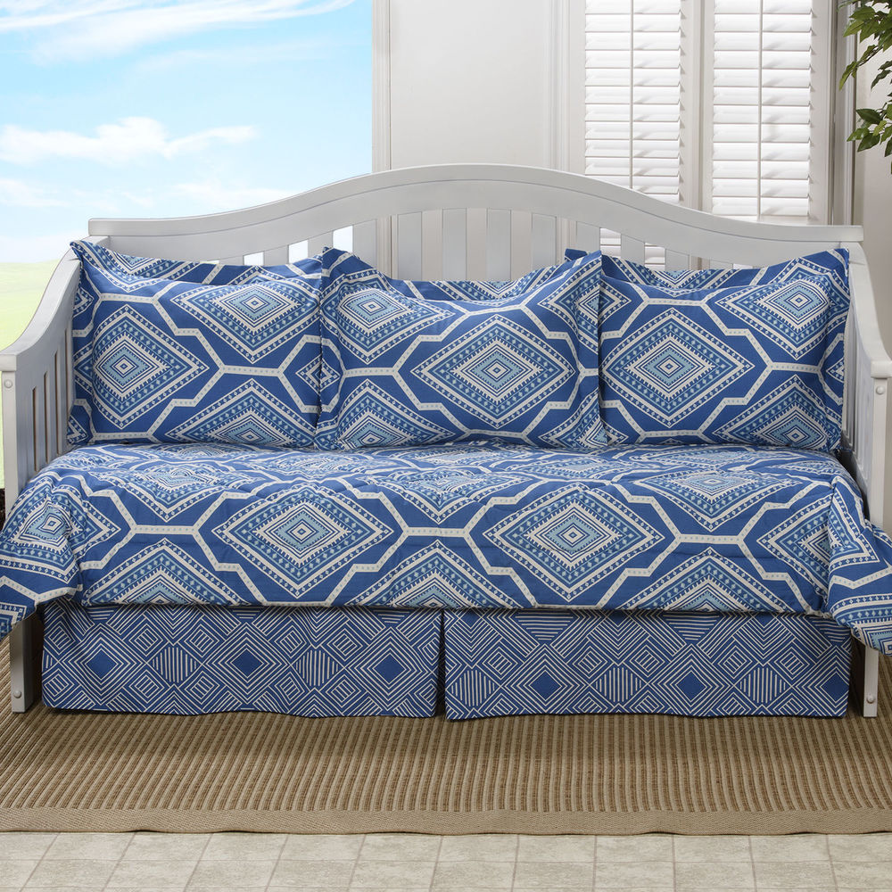 daybed bedding sets blue photo - 3