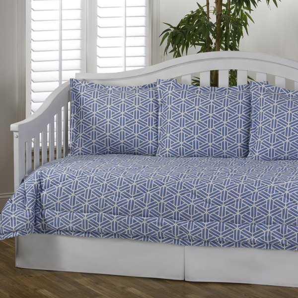 daybed bedding sets blue photo - 4