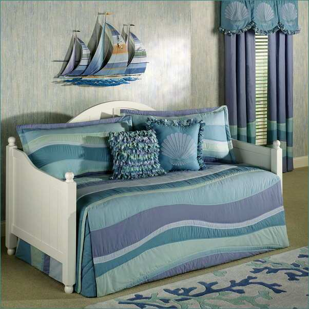 daybed bedding sets blue photo - 8