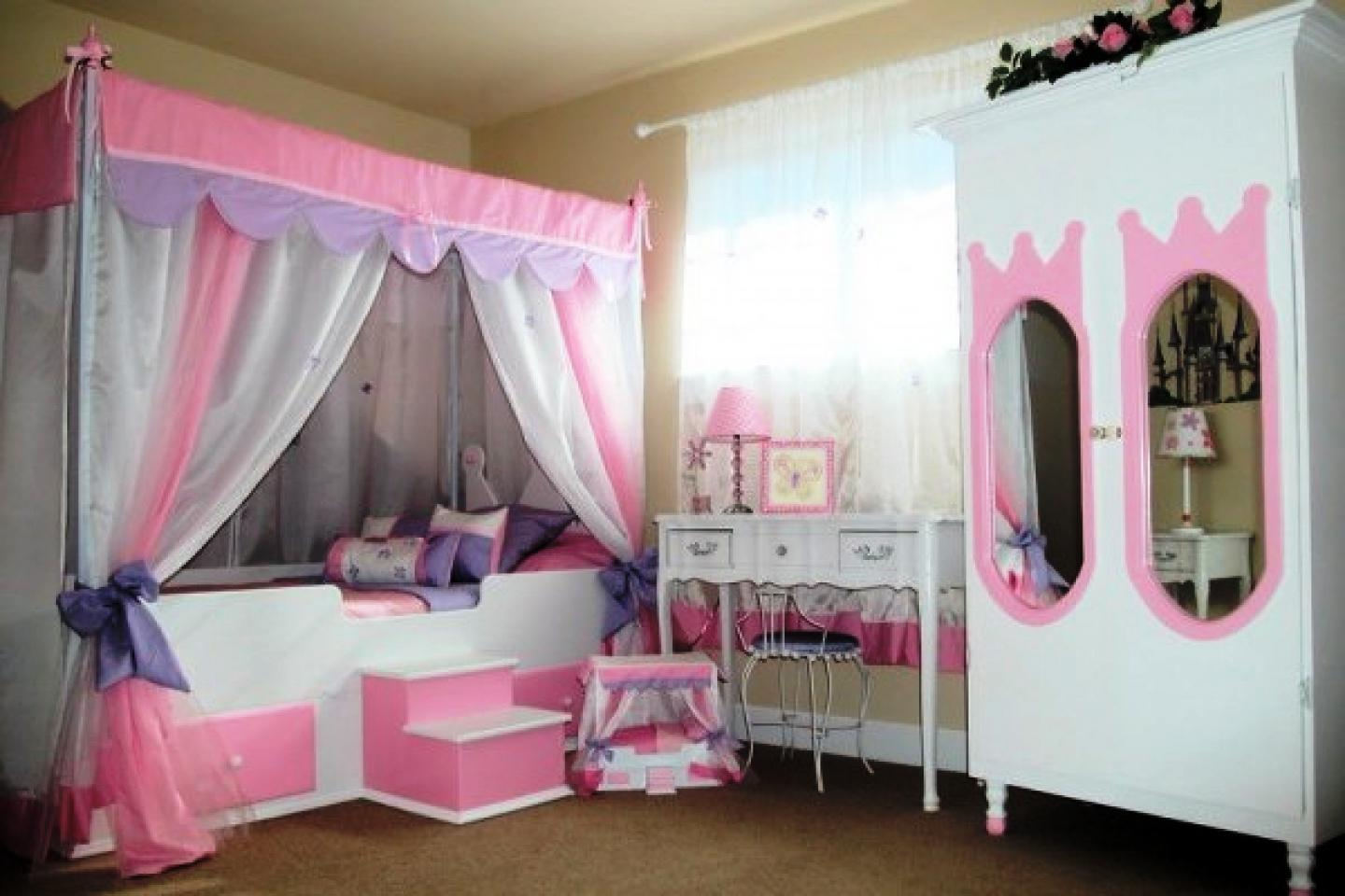 decorating a little girlメs room ideas photo - 10