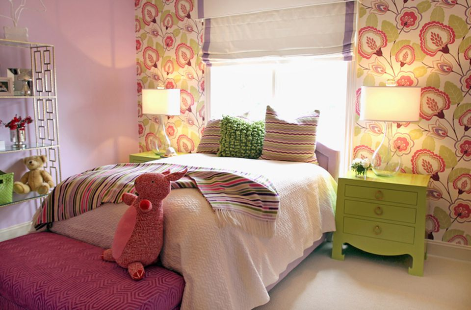 decorating a little girlメs room ideas photo - 3