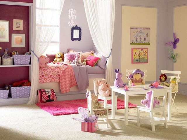 decorating a little girlメs room ideas photo - 5