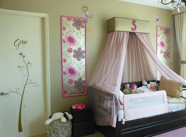 decorating a little girlメs room ideas photo - 8