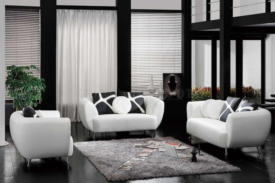 decorating living room with white furniture photo - 5
