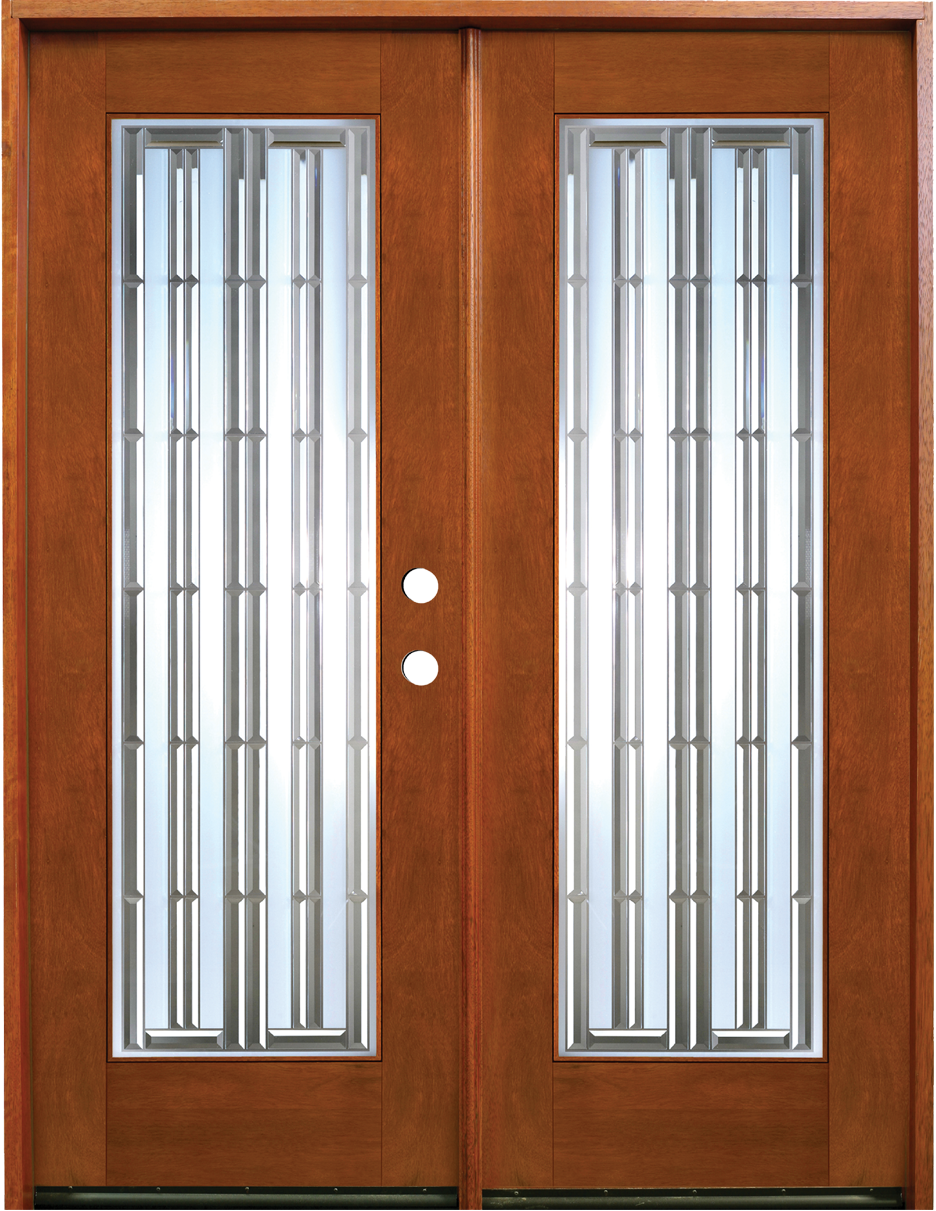 decorative french doors interior photo - 10