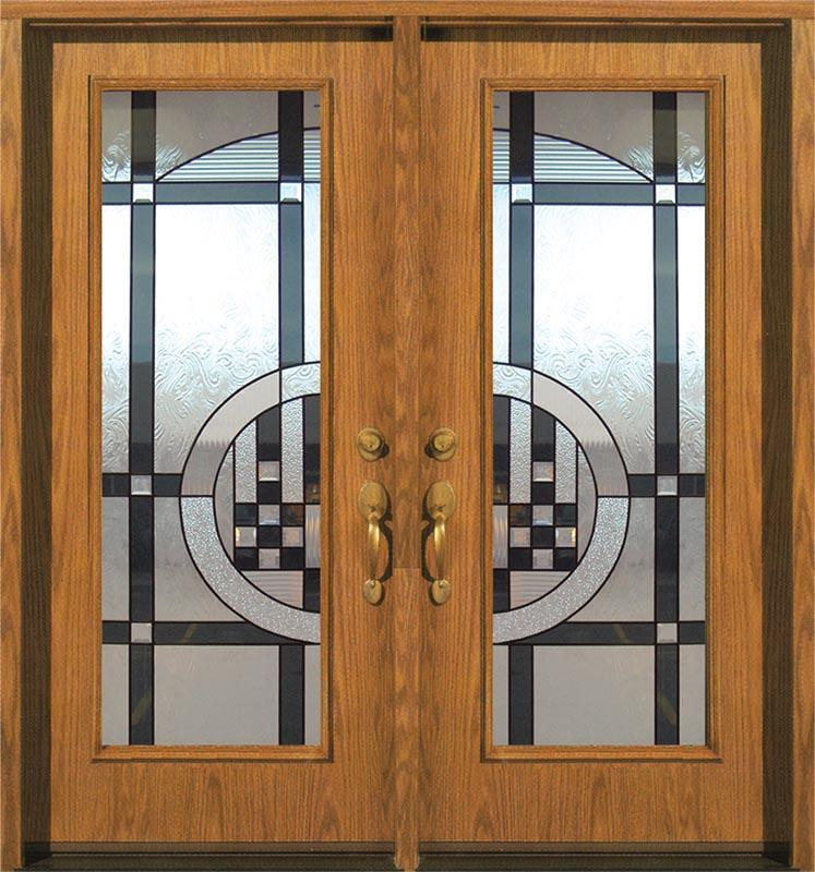 decorative french doors interior photo - 2