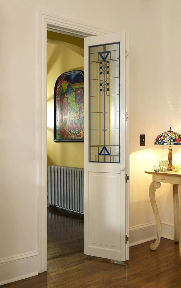 decorative french doors interior photo - 9