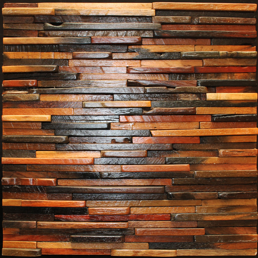 decorative wood wall panels designs photo - 2