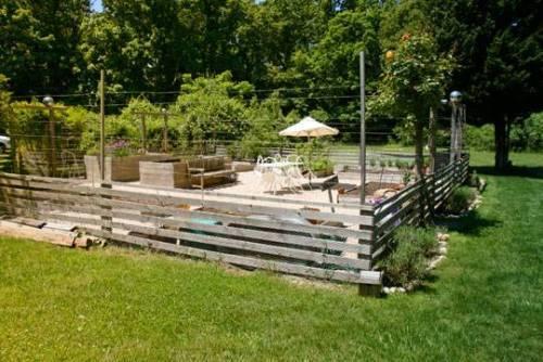 deer fence design ideas photo - 6