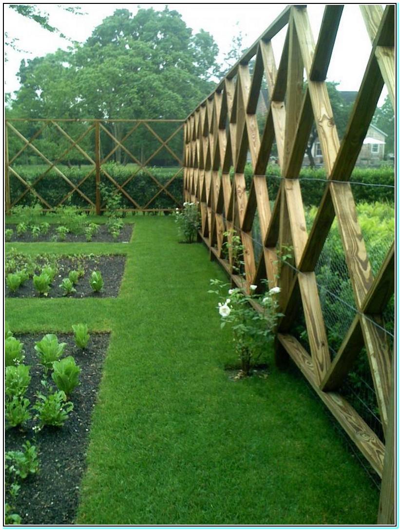 deer fence design ideas photo - 9