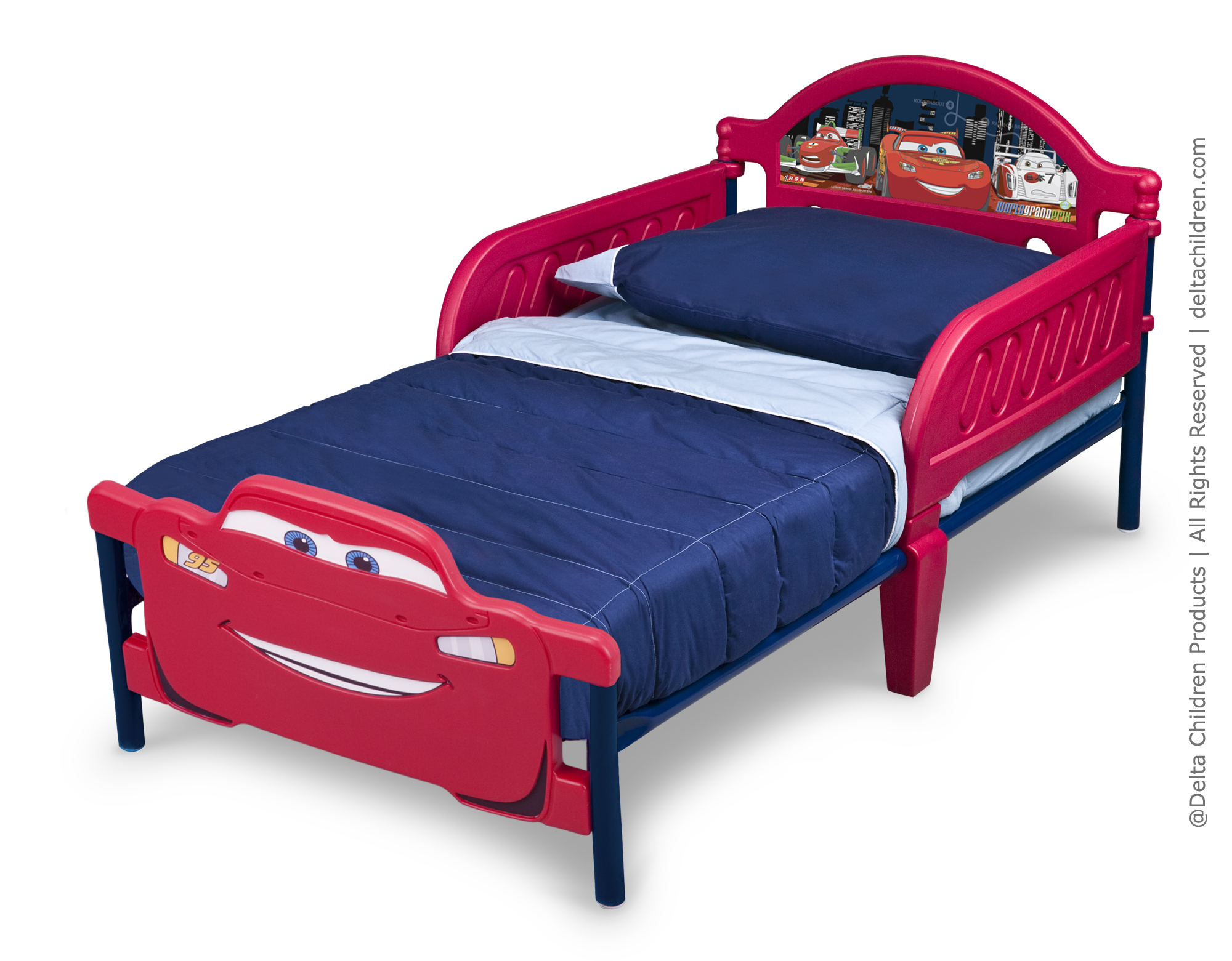 delta cars toddler bed instructions photo - 10