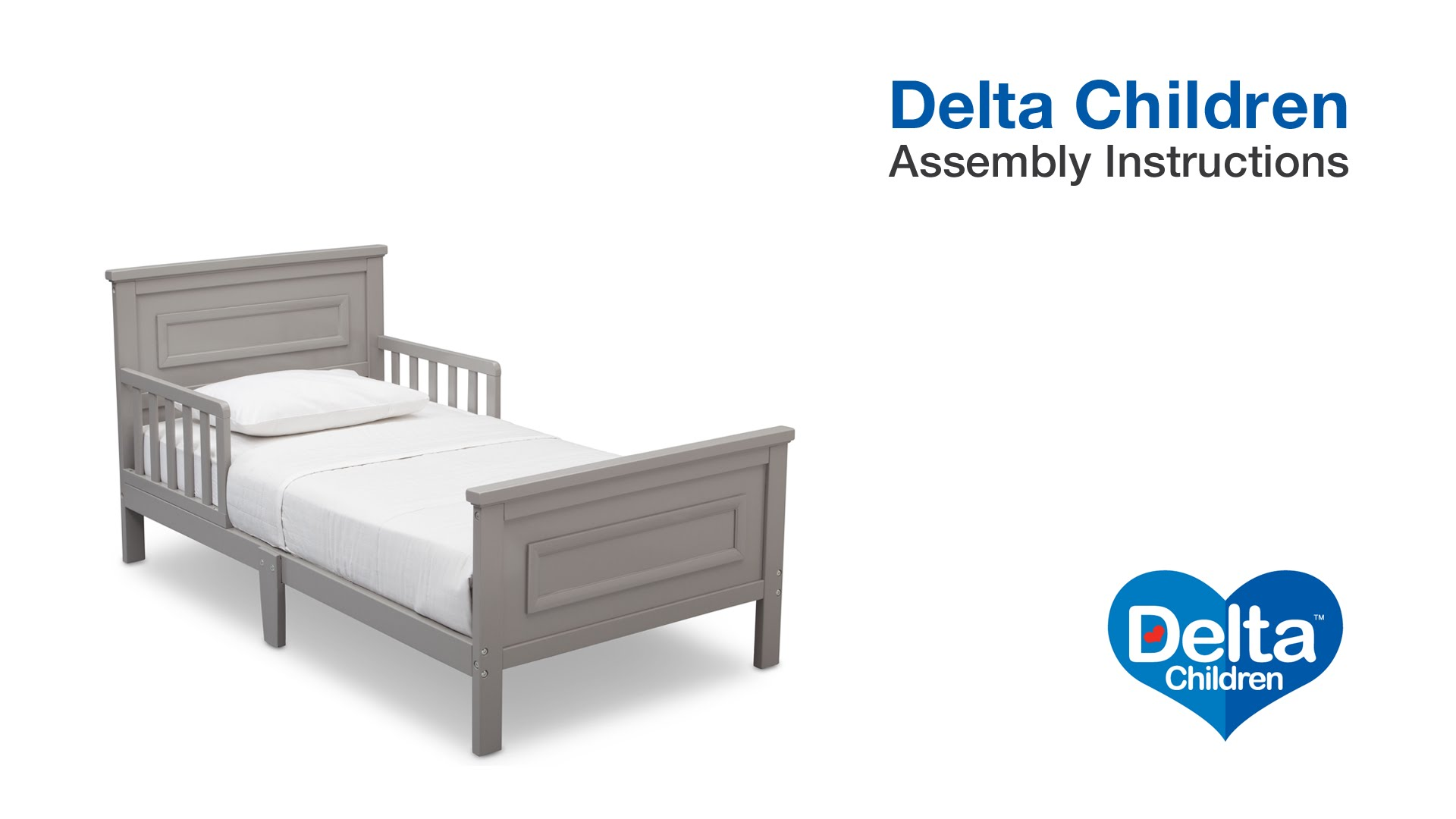 delta cars toddler bed instructions photo - 8
