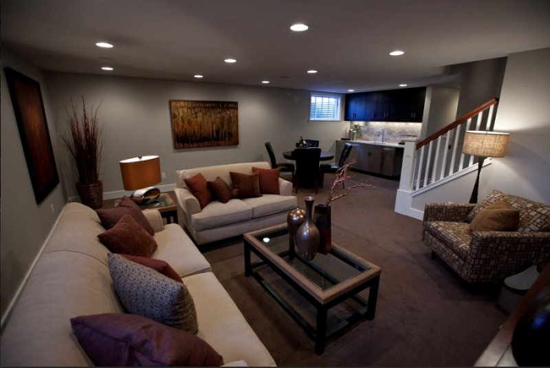 design basement ideas photo - 1