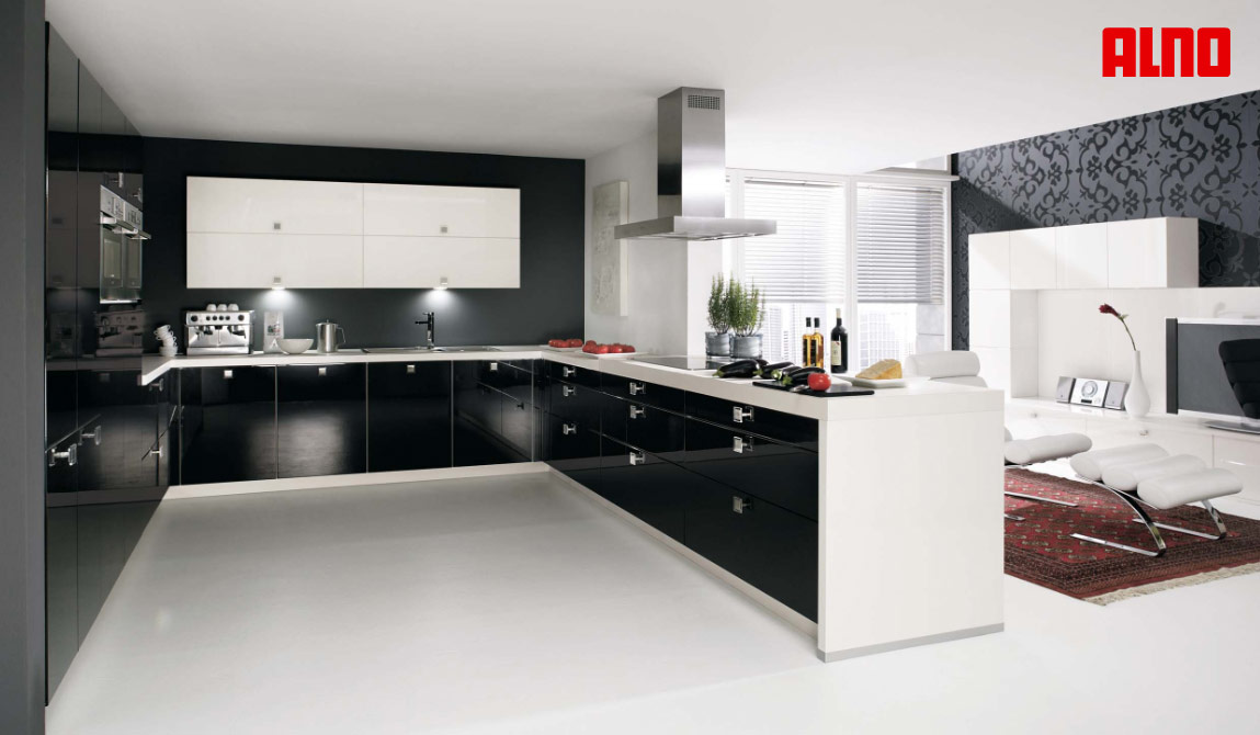 designing a u shaped kitchen photo - 2