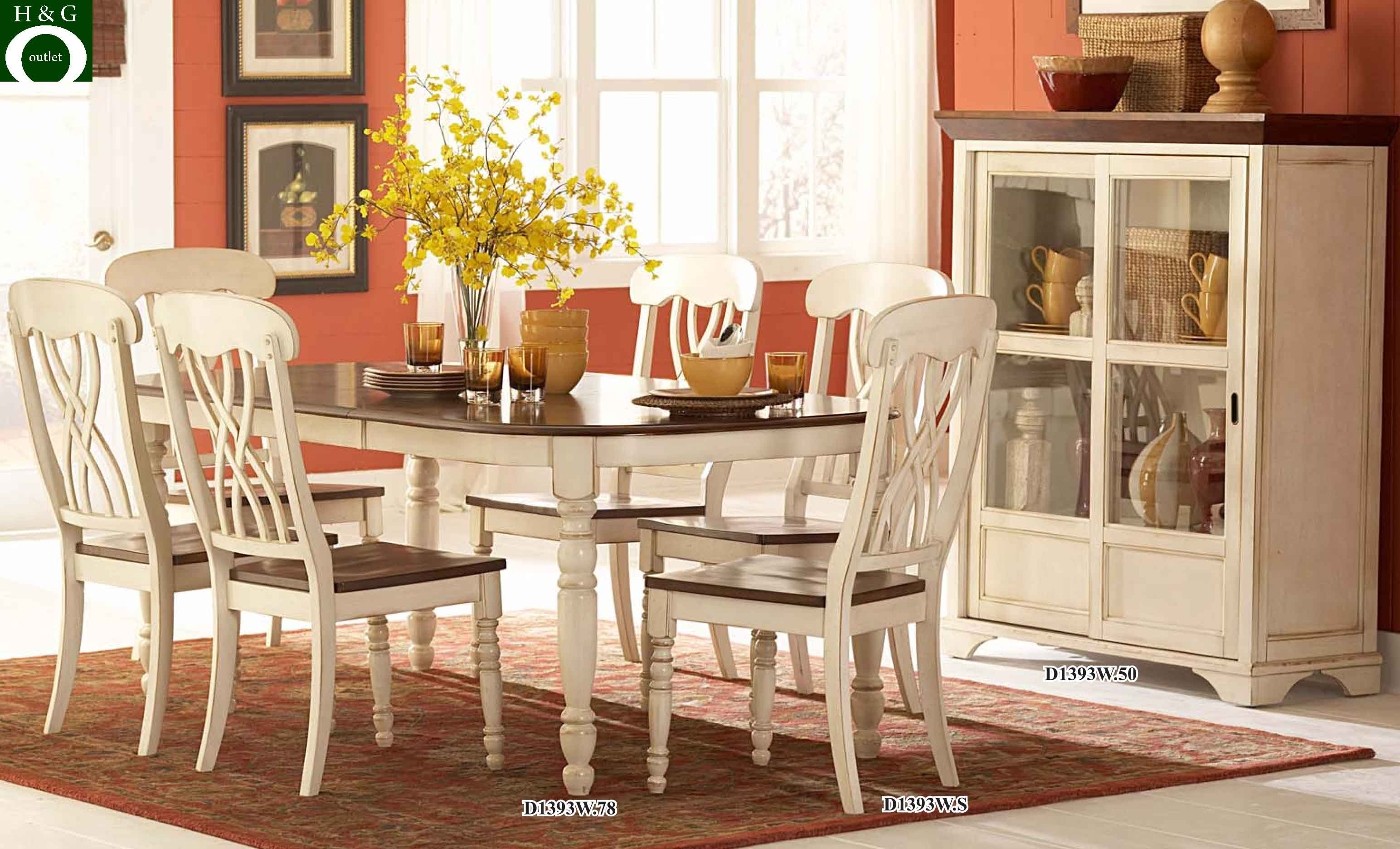 dining room with white furniture photo - 9