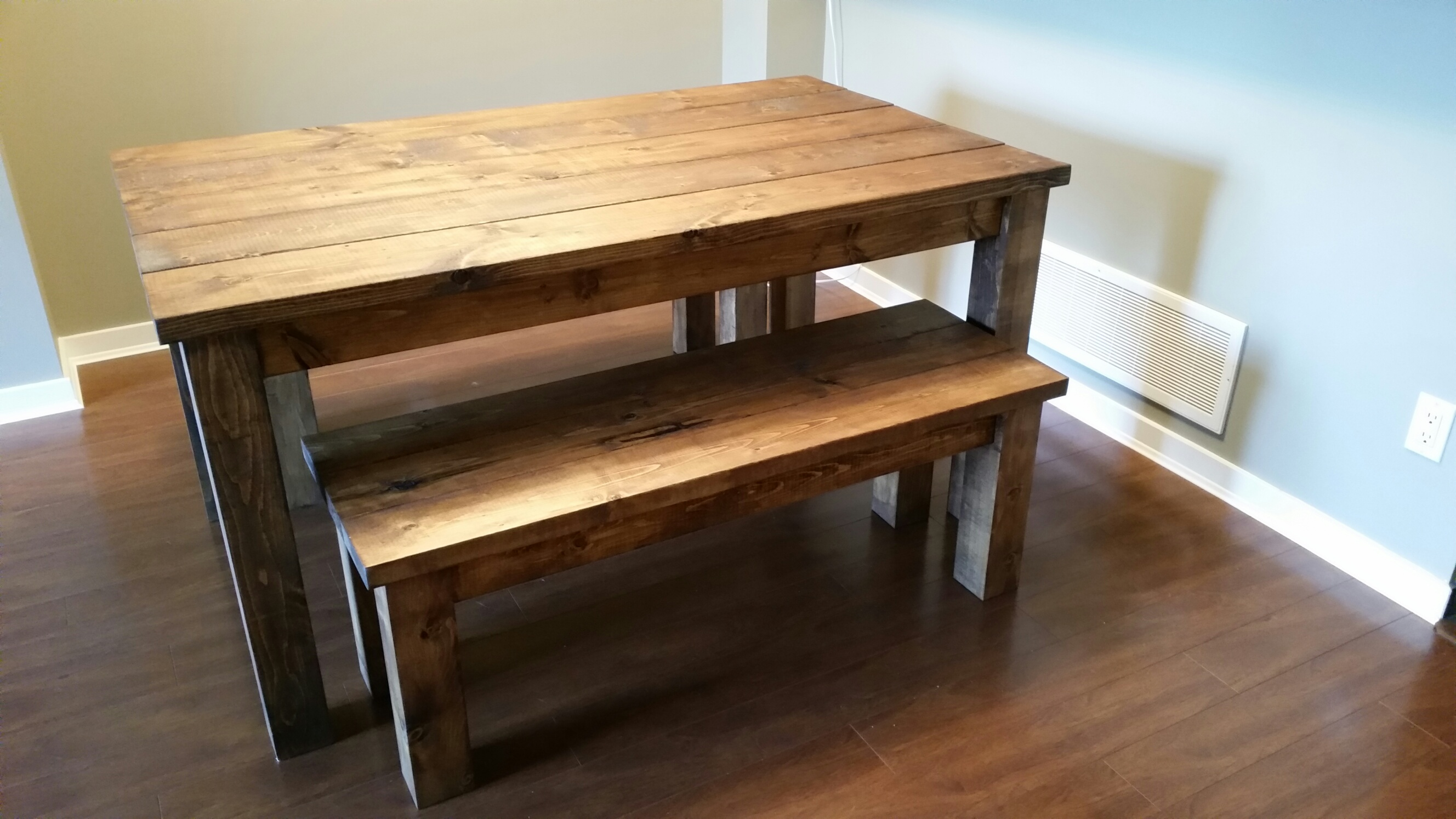 dining tables and benches photo - 1