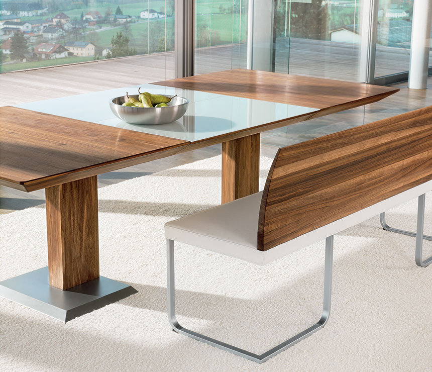 dining tables and benches photo - 2