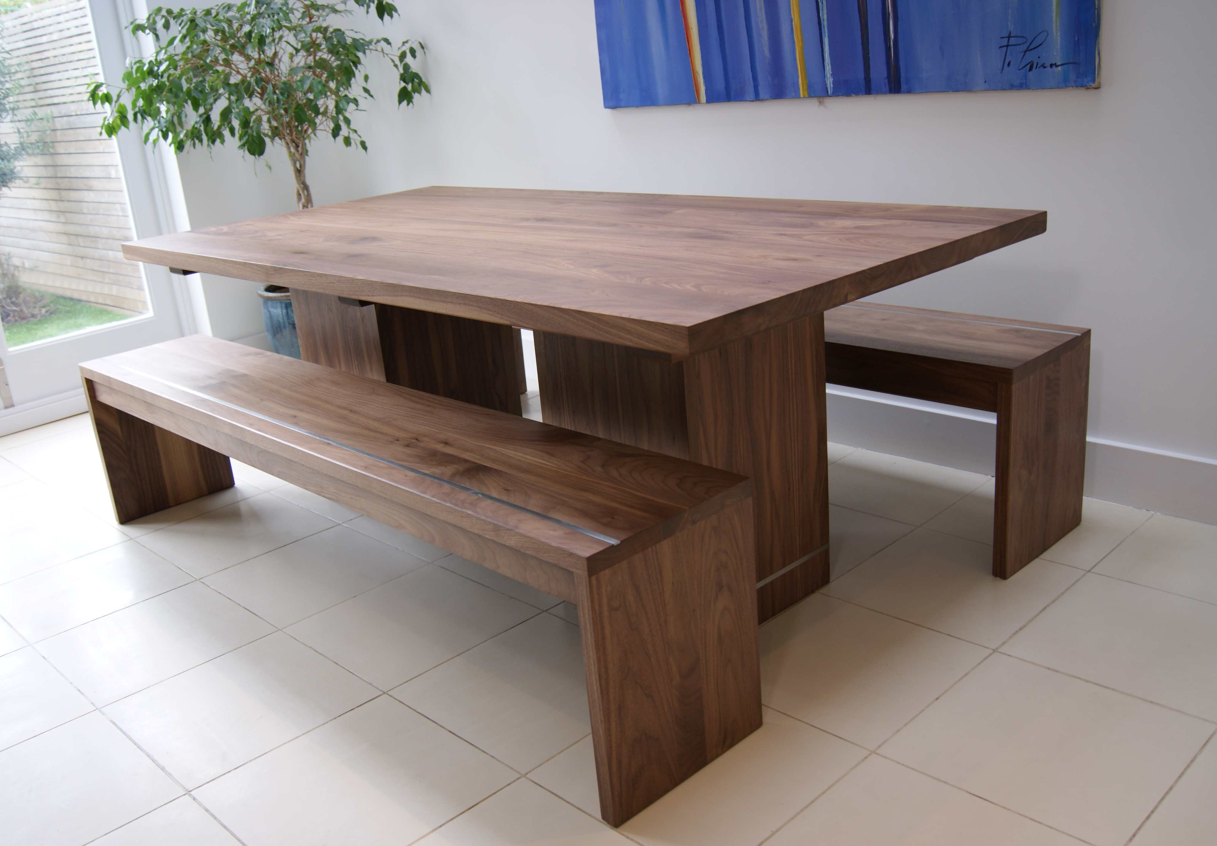 dining tables and benches photo - 5