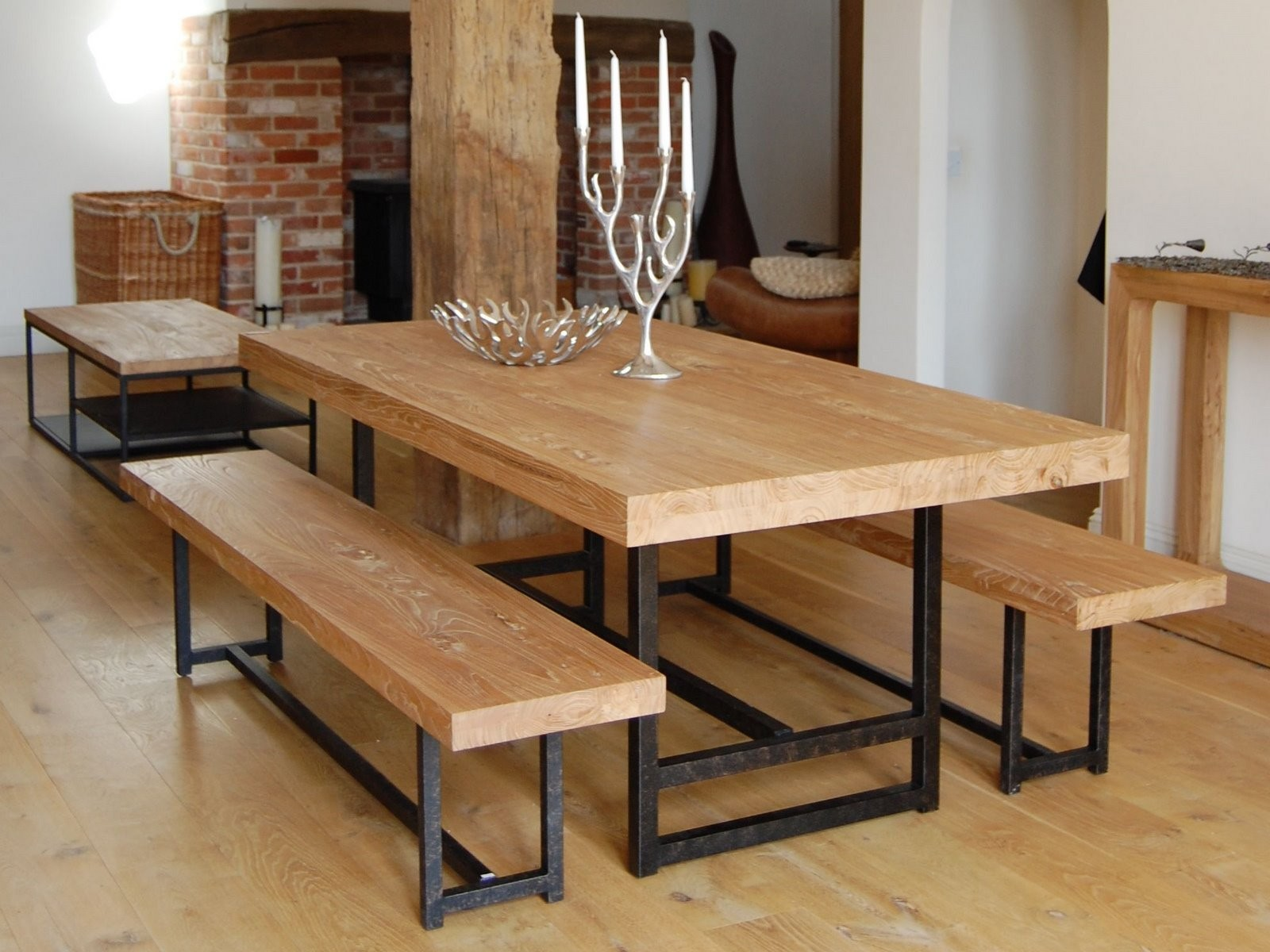 dining tables and benches photo - 9