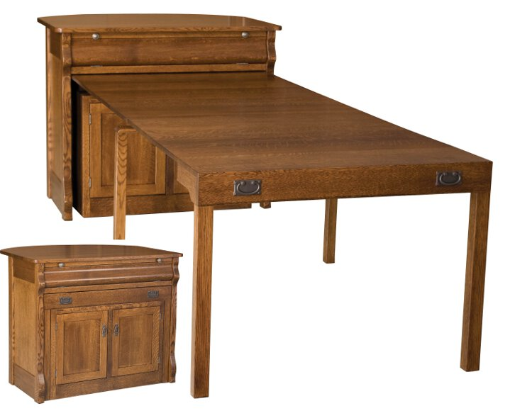small extendable kitchen table