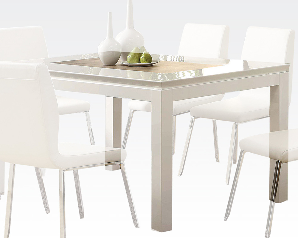 dining tables white photo - 3