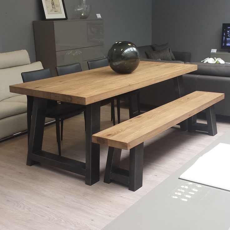 Attirant Dining Tables With Bench Seats
