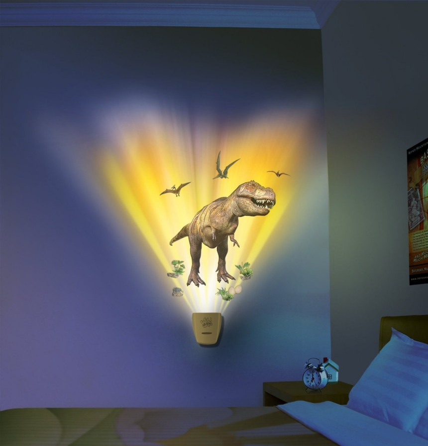 dinosaur bedroom lamp photo - 1