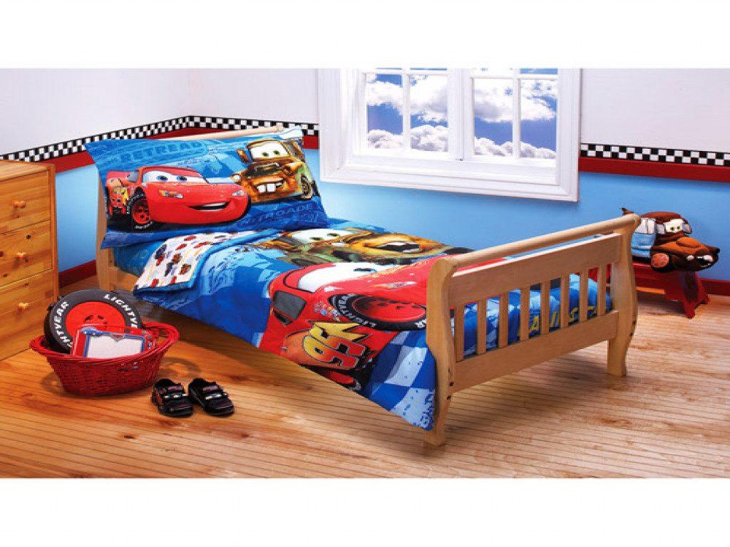 disney cars toddler bed set kids photo - 10