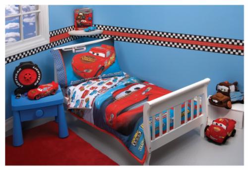 disney cars toddler bed set kids photo - 5