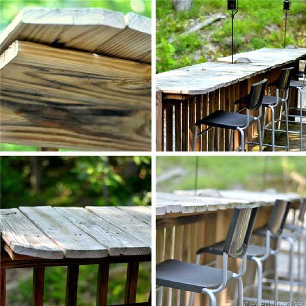 diy outdoor bar designs photo - 1
