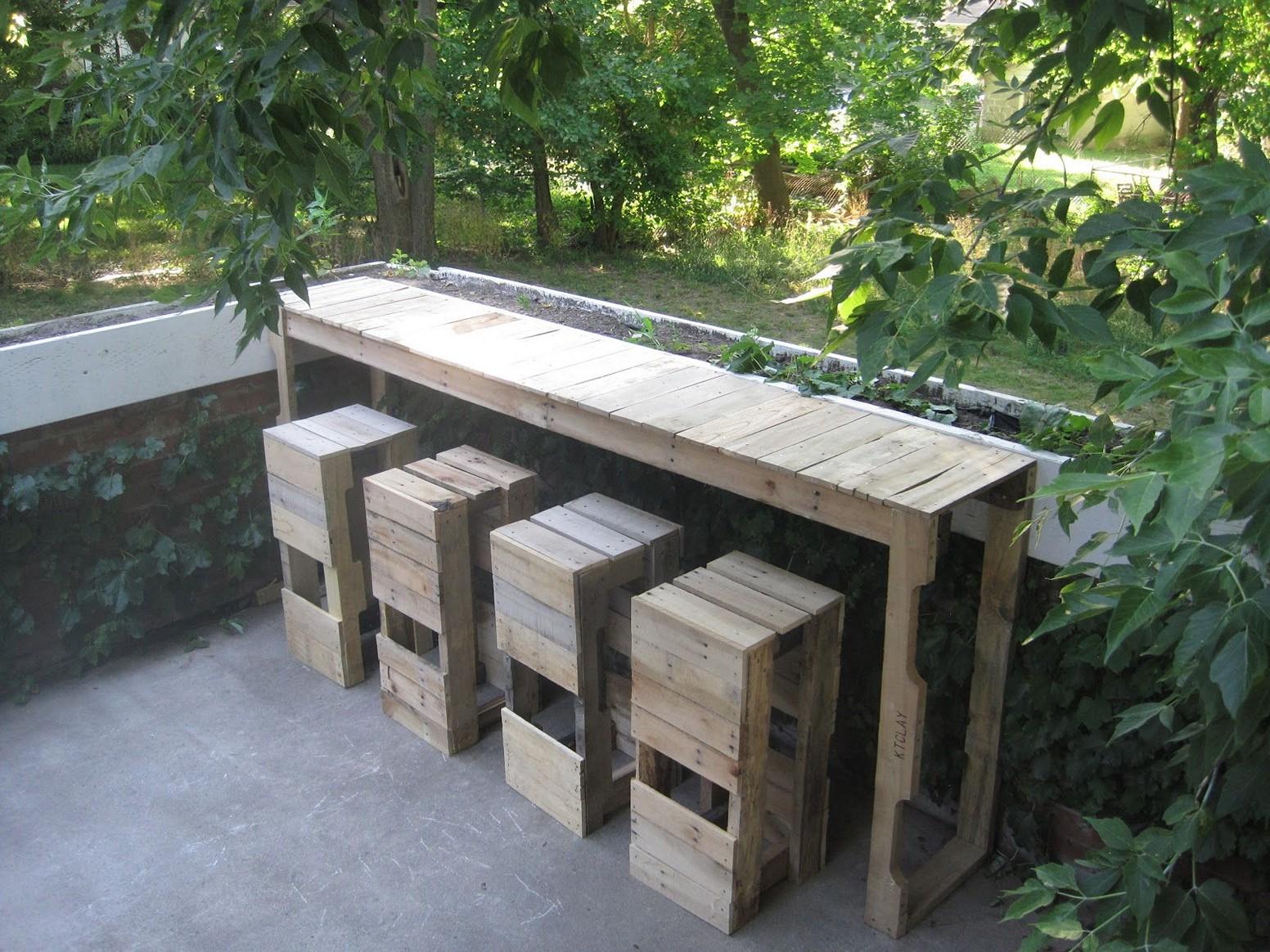 diy outdoor bar designs photo - 10