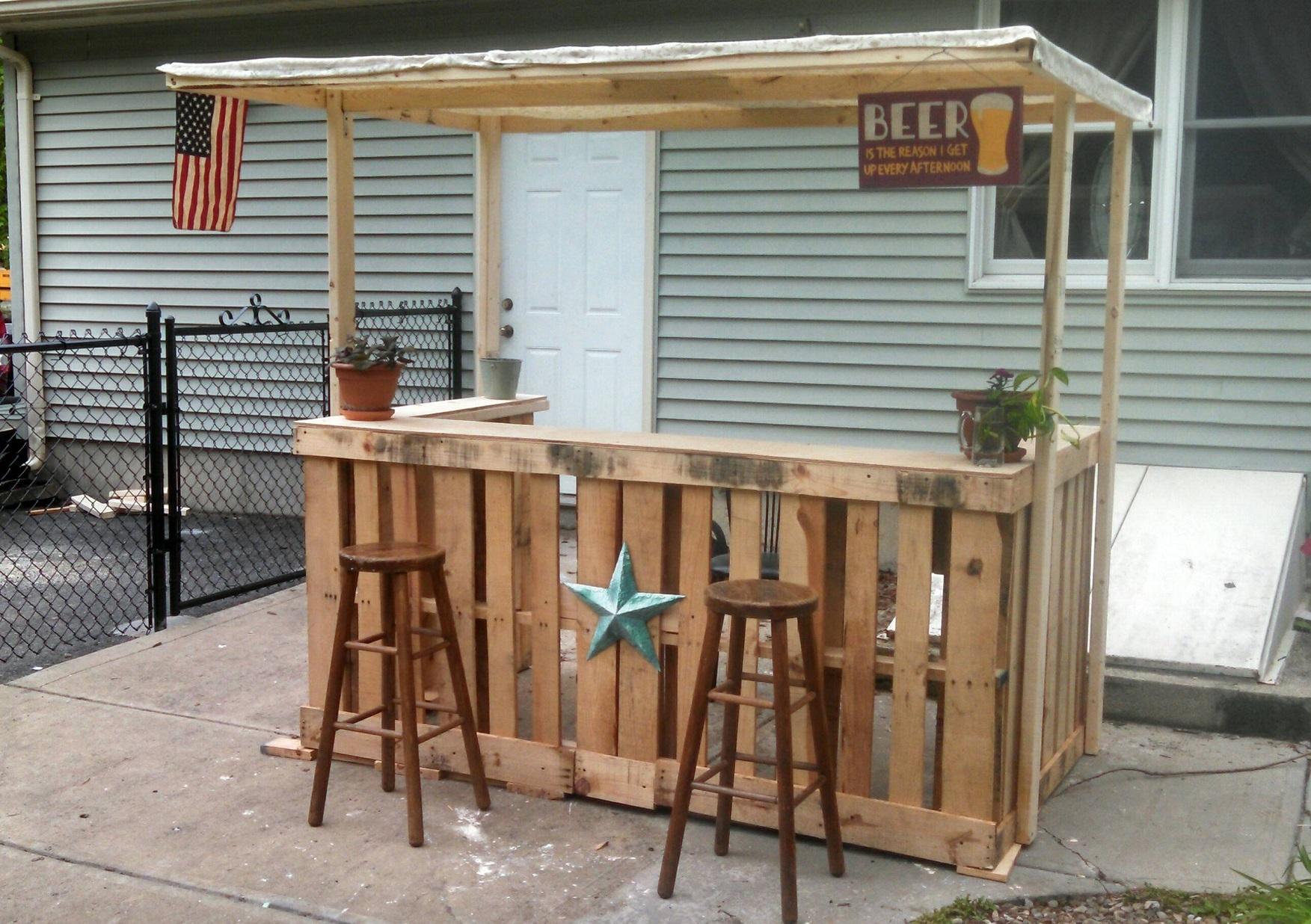 diy outdoor bar designs photo - 2