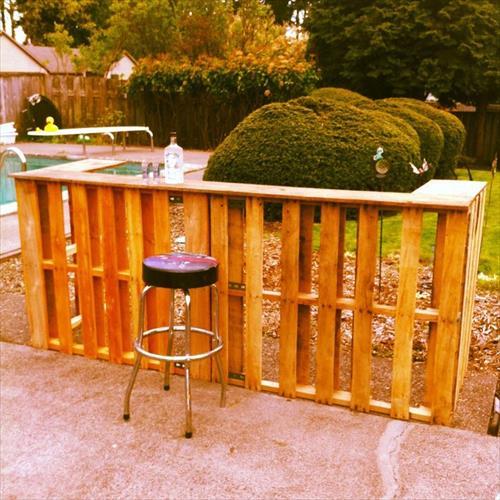 diy outdoor bar designs photo - 4