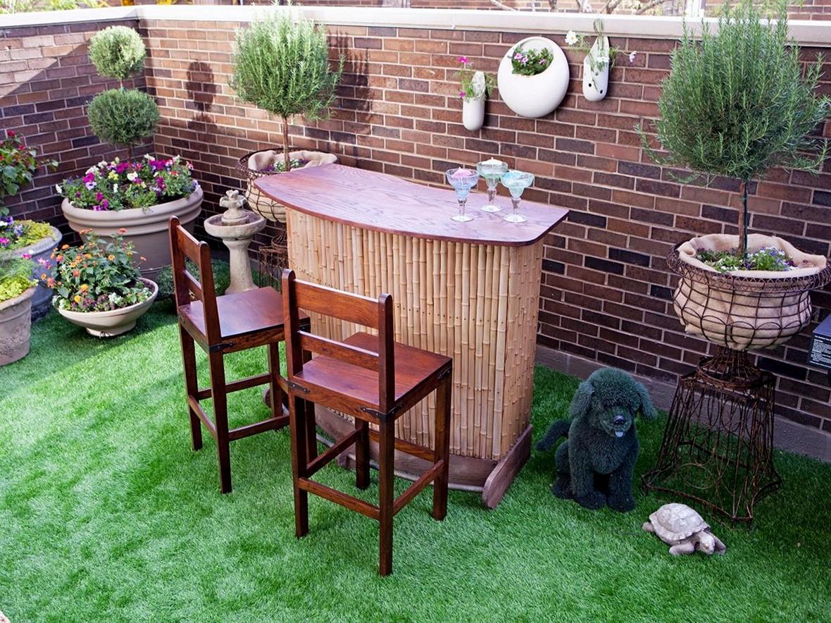 diy outdoor bar designs photo - 6
