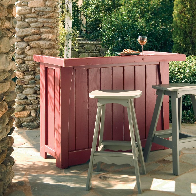 diy outdoor bar designs photo - 8