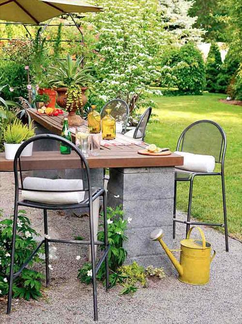 diy outdoor bar designs photo - 9