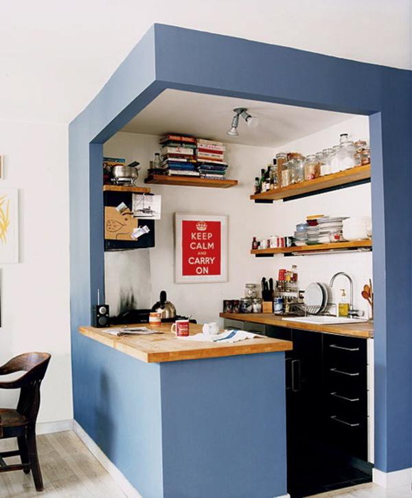 diy small kitchen design ideas photo - 5