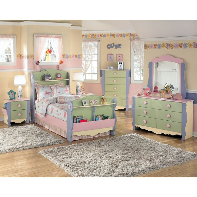 dollhouse bedroom furniture for kids photo - 1