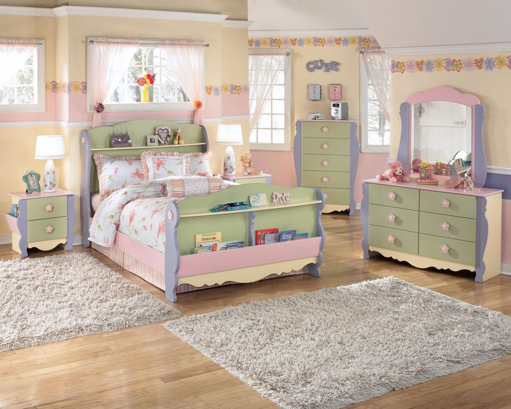dollhouse bedroom furniture for kids photo - 6