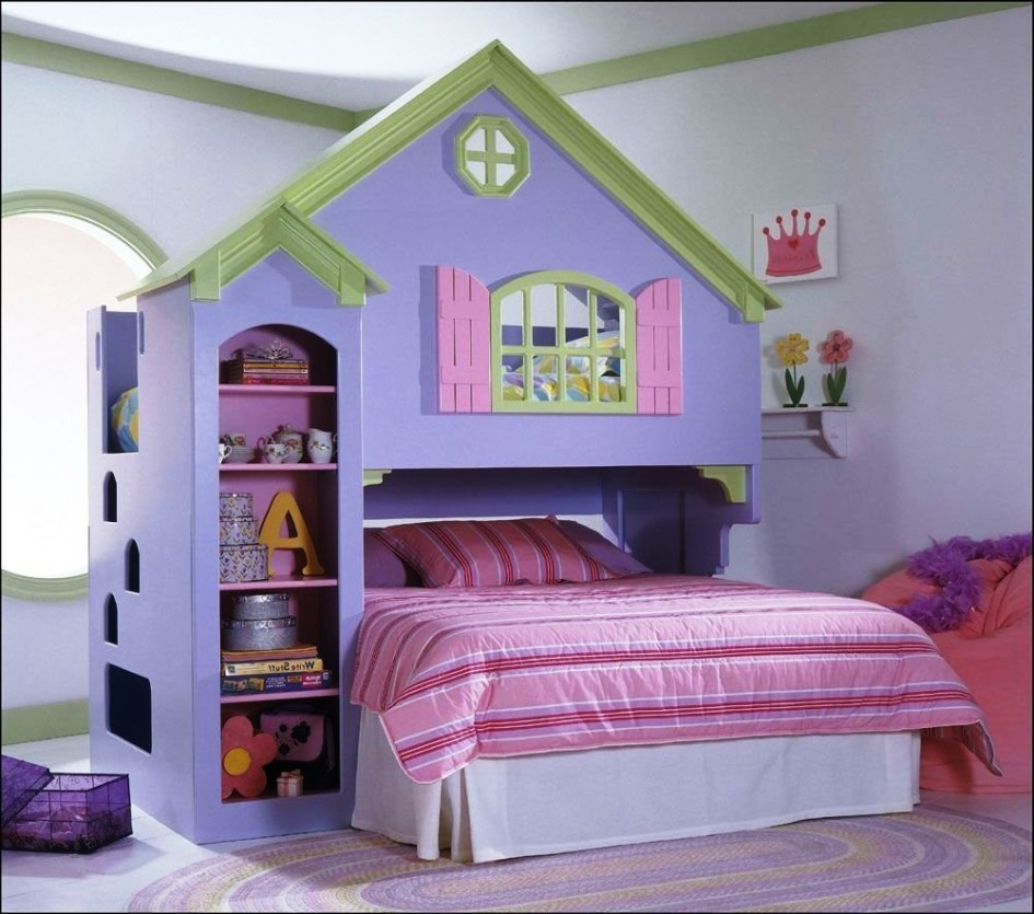 dollhouse bedroom furniture for kids photo - 7