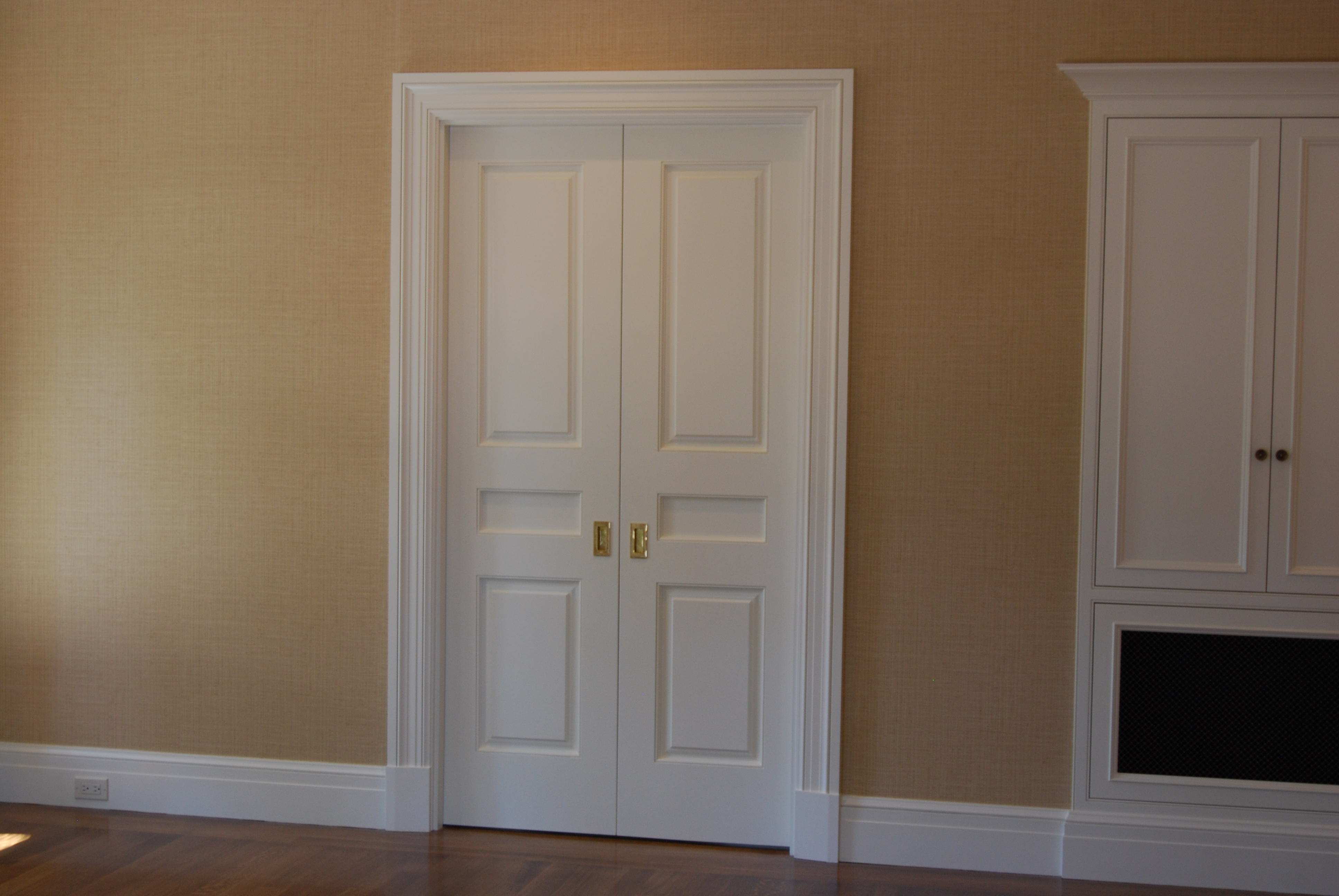 Double French Closet Doors Hawk Haven
